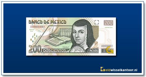 Mexico 200 Pesos J de Asbaje 2000-2007