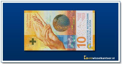 Zwitserland 10 Franken 2017