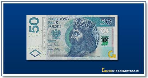 Polen 50 Zlotych Bołeslaw I Chrobry 2012