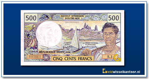CFP 500 Frank Landscape in the Marquise Islands and fisherman 1992