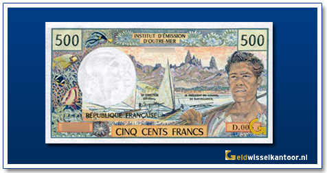CFP 500 Frank Landscape in the Marquise Islands and fisherman 1970
