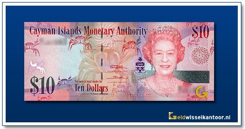 Kaaiman-eilanden-1-Dollar-Queen-Elizabeth-II-2010