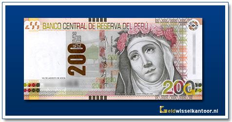 Peru-200-Sol-Sante-Rosa-de-Lima-2011