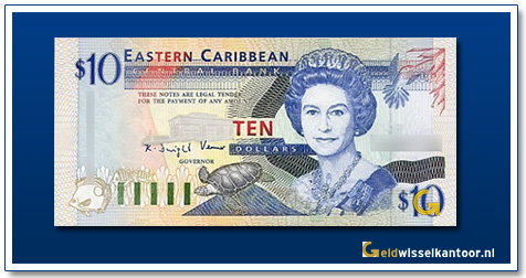 10 Dollar Queen Elizabeth II 1993