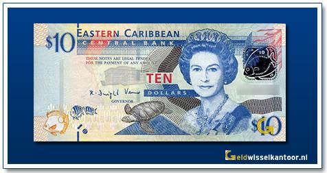 10 Dollar Queen Elizabeth II 2008