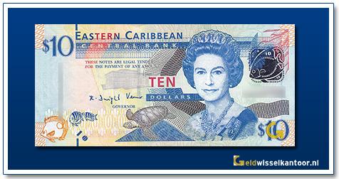 10 Dollar Queen Elizabeth II 2012