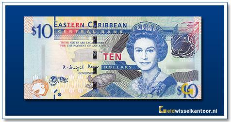 10 Dollar Queen Elizabeth II 2015
