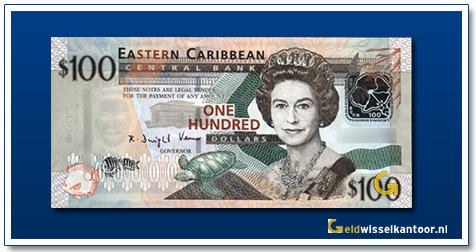 100 Dollar Queen Elizabeth II 2008