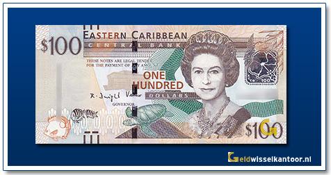 100 Dollar Queen Elizabeth II 2015