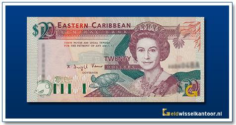 20 Dollar Queen Elizabeth II 1993