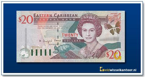 20 Dollar Queen Elizabeth II 2000