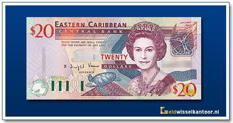 20 Dollar Queen Elizabeth II 2003