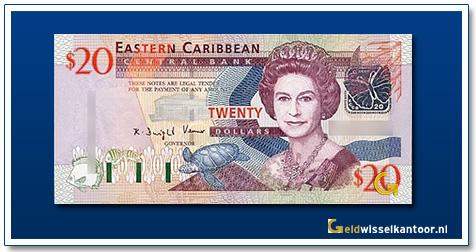 20 Dollar Queen Elizabeth II 2008