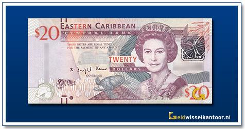20 Dollar Queen Elizabeth II 2012