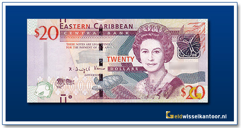 20 Dollar Queen Elizabeth II 2015