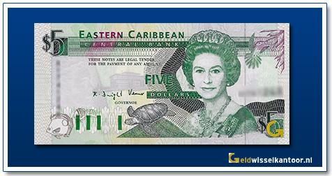 5 Dollar Queen Elizabeth II 1993