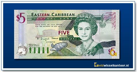 5 Dollar Queen Elizabeth II 1994