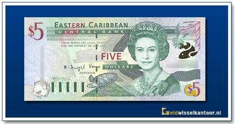 5 Dollar Queen Elizabeth II 2000