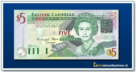 5 Dollar Queen Elizabeth II 2003
