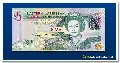 5 Dollar Queen Elizabeth II 2008
