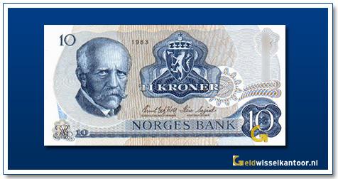 Noorwegen 10 Kronor Christian Michelsen 1954-1973