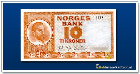 Noorwegen 10 Kronen Fridtjof Nansen 1972-1984