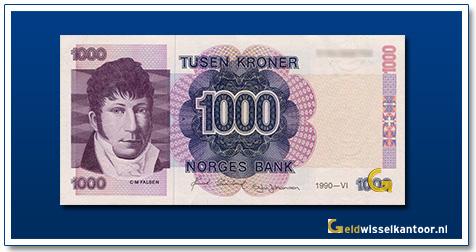 Noorwegen 1000 Kronen Christian-Magnus-Falsen 1991-2000