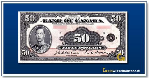 Canada 50 Dollar Prince Albert 1935