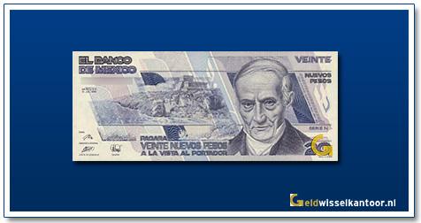 Mexico 20 Pesos Don A Quintana Roo 1992