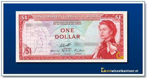 1 Dollar Queen Elizabeth II 1965