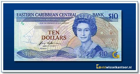 10 Dollar Queen Elizabeth II 1985