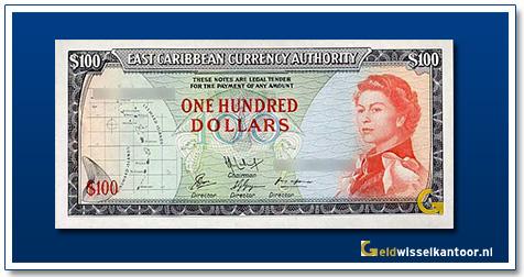 100 Dollar Queen Elizabeth II 1965