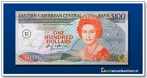 100 Dollar Queen Elizabeth II 1986-1988