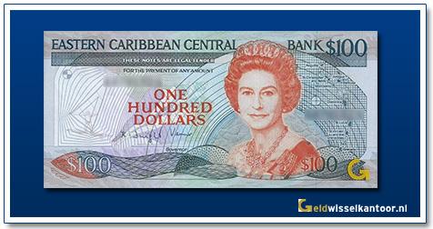 100 Dollar Queen Elizabeth II 1988-1993