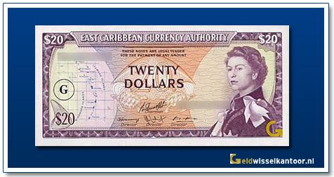 20 Dollar Queen Elizabeth II 1965