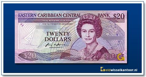 20 Dollar Queen Elizabeth II 1988-1993