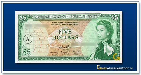 5 Dollar Queen Elizabeth II 1965