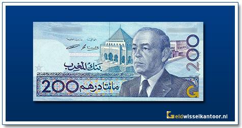 Marokko-200-Dirhams-King-Mohammed-IV-1987