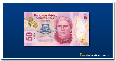 Mexico 50 Pesos José Maria Morelos 2016