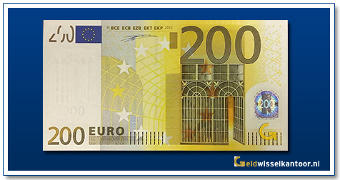 Europa 20 euro Iron and glass design 2002