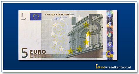 Europa 5 euro Bridge in Classical Style 2002