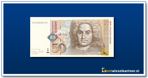 Duitsland 50 Mark Balthasar Neuman 1996