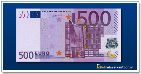 Europa 500 euro Bridge in 20th century style 2002