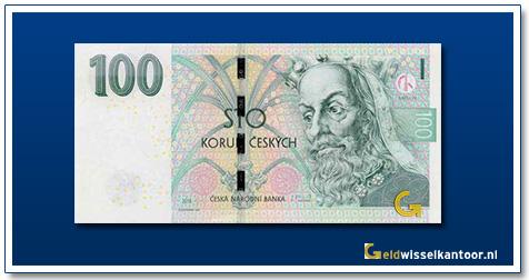Tsjechië 100 Kronen King Karel IV 2018