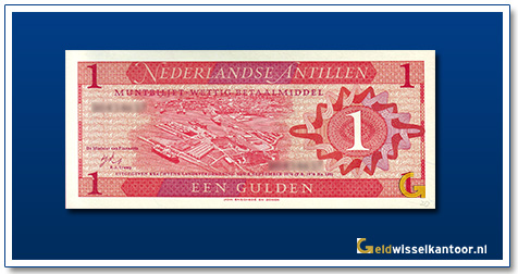 Nederlandse Antillen 1 Gulden 1970