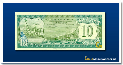 Nederlandse Antillen 10 Gulden 1970