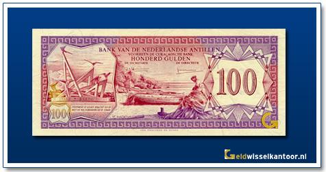 Nederlandse Antillen 100 Gulden 1970