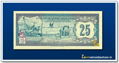 Nederlandse Antillen 25 Gulden 1970
