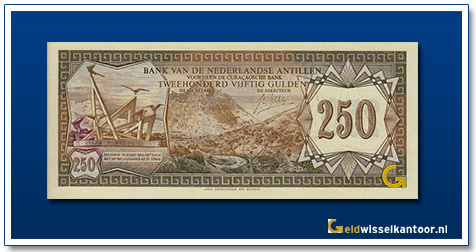 Nederlandse Antillen 250 Gulden 1970