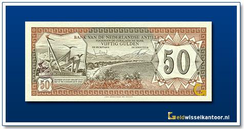 Nederlandse Antillen 50 Gulden 1970